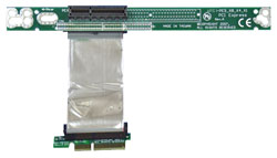 RISER CARD ARC1-PELX16A1 RIBBON PCIE ROHS RIGHT-ANGLED FEMALE TO MALE